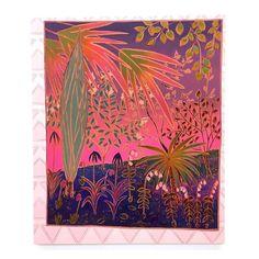 John McAllister j.o.h.n.mcallister   .  #johnmcallister #painting #framed #pink #plants #abstraction #contemporarypainting #pattern #fluorescent #neon #contemporarylandscape #visualart #artist #artwork #