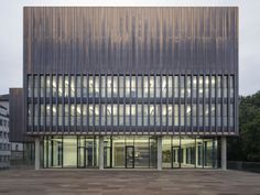 State Archive of the Evangelical Lutheran Church of Bavaria / gmp Architekten [shiny copper facade]