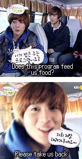 """Taemin (SHINee): """"SHINee's Hello Baby"""", episode one.  (.gif set)."""