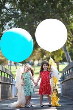 "Teal 36"" Latex Giant Balloon with tassel garland - Wedding ,Photo Prop, Birthday , Engagement, Party Decoration on Etsy, 141.51 ₪"