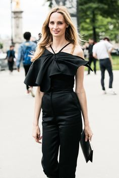 Street looks à la fashion week haute couture 2016-2017 à Paris