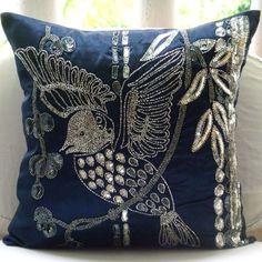 Handmade Navy Blue Pillow Cases, Sequins & Beaded Bird Pi... https://www.amazon.com/dp/B00D8MGRK4/ref=cm_sw_r_pi_dp_x_N3UmybE1HWZBW