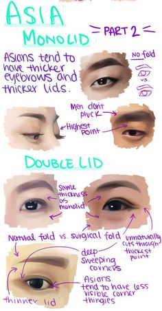 Manga Drawing Tips ผลการค้นหารูปภาพสำหรับ how to draw asian eyes Digital Painting Tutorials, Digital Art Tutorial, Art Tutorials, Digital Paintings, Drawing Tutorials, Concept Art Tutorial, Doodle Drawing, Anatomy Drawing, Eye Anatomy
