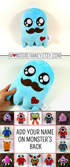 Wouldn't be it so great to share all these sweets with a cuddly friend who doesn't eat? Now you can have that kind of a friend for your own :) monstersfamily.etsy.com Ghost Pillow, Ghost Friend, Ghost Toy, Halloween Plush Toy, Halloween Ghost, Halloween Decor