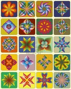 Mandalas with Vector design