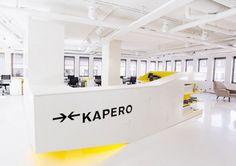 Arbeidsplass i gult og hvitt | Ideas To Steal