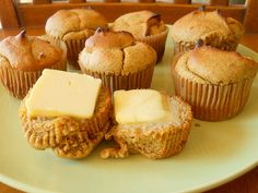 Pumpkin Pie Muffins with fresh Ginger. (Made with Almond flour and a little coconut flour)