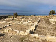 #invasionidigitali #siciliainvasa #invadieracleaminoa Il panorama dell'area archeologica affacciata sul mare