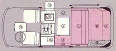 Bus Interior, Campervan Interior, Volkswagen Bus Camper, Camper Van, Vw Bugs, Helsinki, Kombi Motorhome, E Motor, Camping