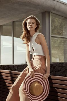BCBG Max Azria Spring Summer 2018 Mathilde Brandi by Olivia Malone - Fashion Editorials