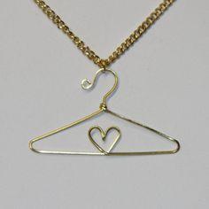 Miniature Wire Heart Hanger