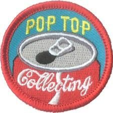 Pop Top Collecting Fun Patch