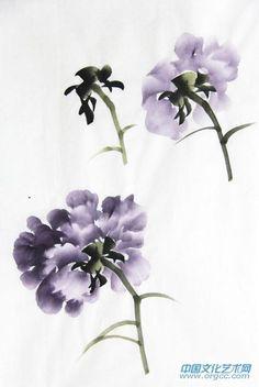 跟我学画牡丹之牡丹画技法(第二篇)_泸州老窖金泸州书画院