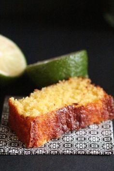 Cake Noix de Coco & Citron Vert – Entre la Poire & le Fromage