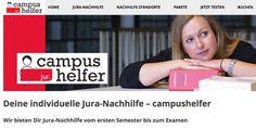 #Startup vorgestellt: campushelfer - Individuelle Jura-Nachhilfe für Studenten
