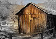 A barn in Sedona