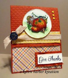 BEST OF AUTUMN by Karen B Barber - Cards and Paper Crafts at Splitcoaststampers