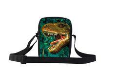 fashion dinosaur cat tiger horse print message bag sling bag for children kids #WHOSEPET #BAG