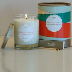 nicerworld.com - KOBO Candles - Ribbon Collection - Sambac Jasmine