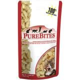 Freeze dried chicken treats, best treat for a cat or dog. Great way to entice your cat to get on the cat wheel too! ;)