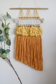 Fancy this Large Boho Woven Wall Hanging? Get yourself over to my Etsy shop (link in bio) and snap it up quick! Woven Wall Hanging, Plant Hanger, Boho Decor, My Etsy Shop, Weaving, Diy Crafts, Fancy, Wall Hangings, Unique Jewelry