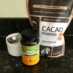 Cacao Matcha Smoothie Recipe - the ultimate PMS and PMDD relief! A great home remedy for hormonal imbalances and is rich in magnesium. Oh, and it's delicious!