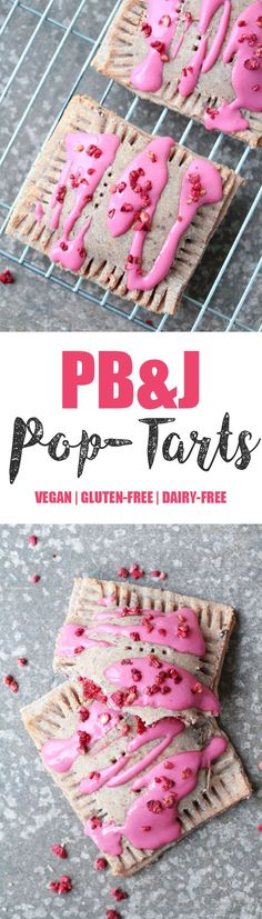 PB&J Pop Tarts - Vegan & Gluten-free I've probably only tried Pop Tarts once or twice many many years ago. I don't even remember the flavour I tried. I do however remember always thinking they're…