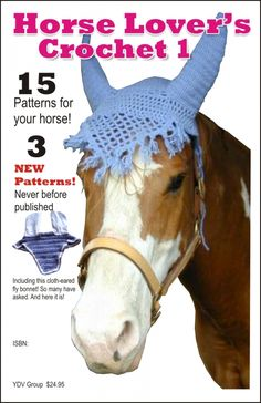 A collection of equestrian, horse and western crochet patterns. NEW: more crochet pattern fashion trends and handmade items. Cute Crochet, Crochet Crafts, Yarn Crafts, Crochet Projects, Diy Projects, Bonnet Crochet, Crochet Motifs, Crochet Patterns, Crochet Stitches