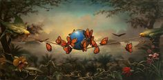 Also love this image from Kevin Sloan called The Rare Flower . . .