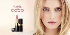 Chanel Rouge Coco 2012 Ad Campaign, French model Sigrid Agren