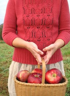 Pomegranate sweater