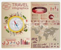 Travel. Vacations. Beach resort infographics royalty-free stock vector art