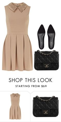 """""""Untitled #13"""" by minimalsimplicity ❤ liked on Polyvore featuring Dorothy Perkins, Chanel and Jigsaw"""