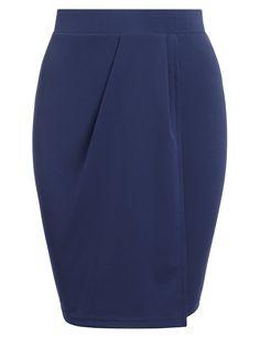 120dcd430739 Beyove Beyove Women's Elastic Waist Stretchy Fabric Office Above the Knee Pencil  Skirt