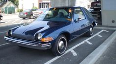AMC CAR BABES | 1977 AMC Pacer—barn find