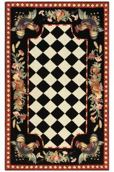 Tuscany Area Rug - I would like the round version of this to go under the kitchen table.