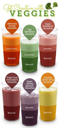 Get Creative With Your Veggies! #SmoothieSwag