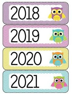 Calendar Year Labels Owl Theme by Justine Greenlee Owl Classroom Decor, Classroom Calendar, Classroom Rules, Preschool Classroom, Classroom Themes, Classroom Teacher, Learning Activities, Activities For Kids, Crafts For Kids