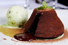 Petit Gateau. One of favorite Brazilian treats.