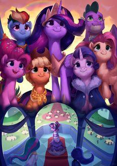 Together by LA-ndy on DeviantArt Dessin My Little Pony, My Little Pony Cartoon, My Little Pony Characters, My Little Pony Drawing, My Little Pony Pictures, Mlp My Little Pony, My Little Pony Friendship, My Little Pony Princess, Rainbow Dash