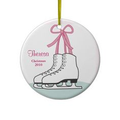 Ice Skating  #Christmas Ornament