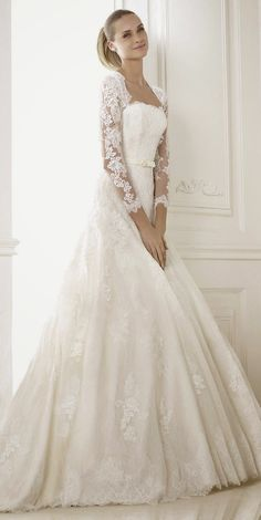 Pronovias 2015 Bridal Collections - Part 2 | bellethemagazine.com