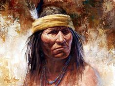 james ayers | James Ayers Native American Indian art - The Renegade