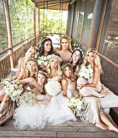 Boho Bridal Party