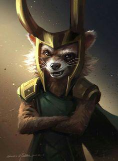 #Rocket #Loki #Lol