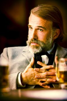 Christoph Waltz - If this guy engages with you in a conversation, you know he knows you're hiding something... ;)