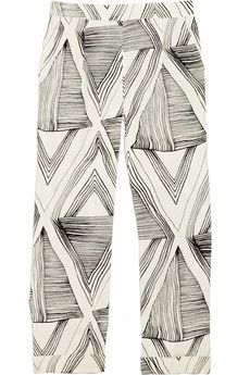 bcbg sketch trousers