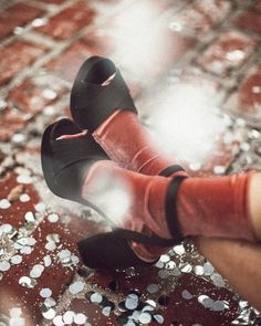 Velvet Slouch Socks | Urban Outfitters | Women's | Lingerie | Tights & Socks | Socks #UOEurope #UrbanOutfittersEU #UOGifted