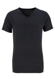 TOMMY HILFIGER T shirt Mit V ausschnitt 3 Stck