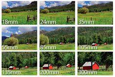 Distancia focal | Entendiendo qué es el zoom de la cámara y la distancia focal del lente | Nikon de Nikon